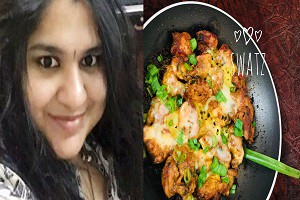 Fusion Fire Chicken by Swathi Joshnaa Sathish