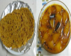 Dal ki Poori and Aam ki Lunji