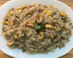 Corn Peas Pulao
