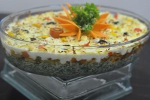 Tricolored Veggie Bake